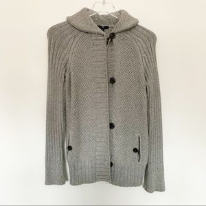 Gray Gap Button Up Sweater Size XS